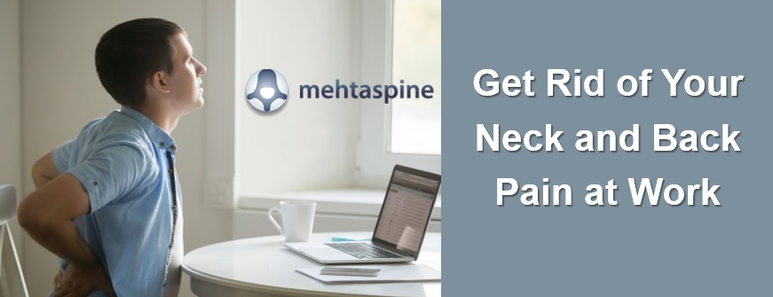 Get rid of neck back pain