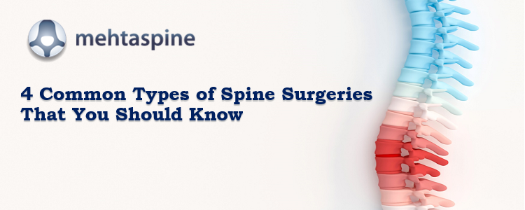 different types of spinal surgeries