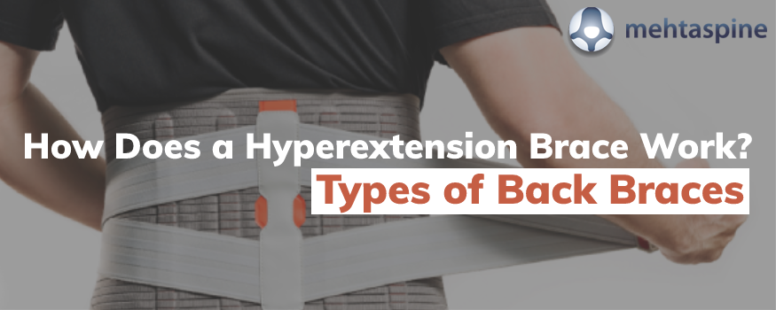 how does a hyperextension brace work